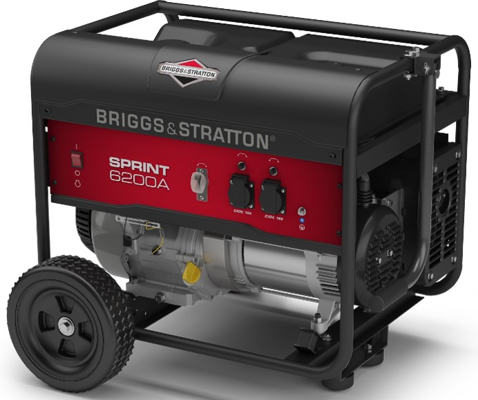 Генератор бензиновый Briggs & Stratton Sprint 6200А