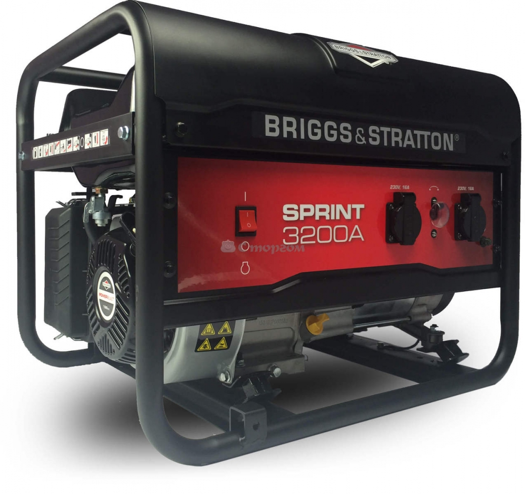 Генератор бензиновый Briggs & Stratton Sprint 3200А